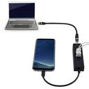 Adapter USB Type C na RJ45 i USB HUB 3 porta 2u1 JWD-U24