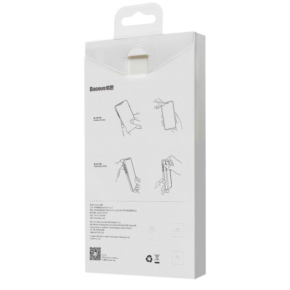 Baseus Liquid Silica Gel Case Flexible gel case iPhone 12 Pro Ivory white (WIAPIPH61P-YT02)