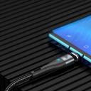 Baseus Zinc USB Type C - USB Type C magnetic data charging cable Power Delivery 100 W 1,5 m black (CATXC-Q01)
