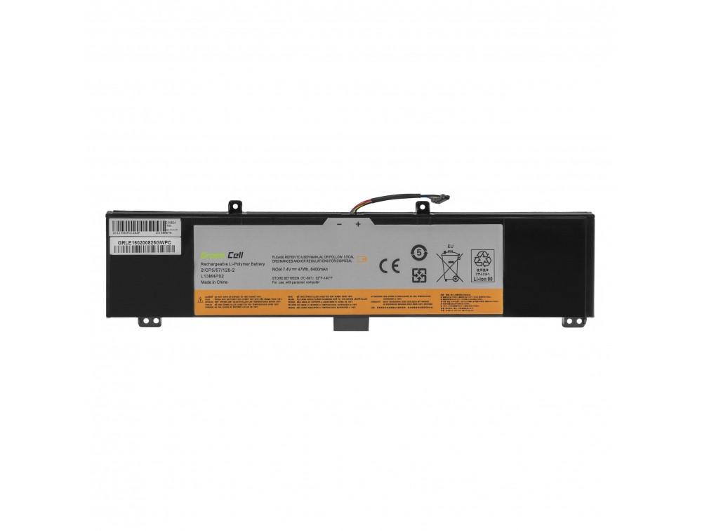 Battery Green Cell L13M4P02 L13L4P02 L13N4P02 for Lenovo Y50 Y50-70 Y70 Y70-70