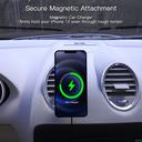 Car charger magnetic black