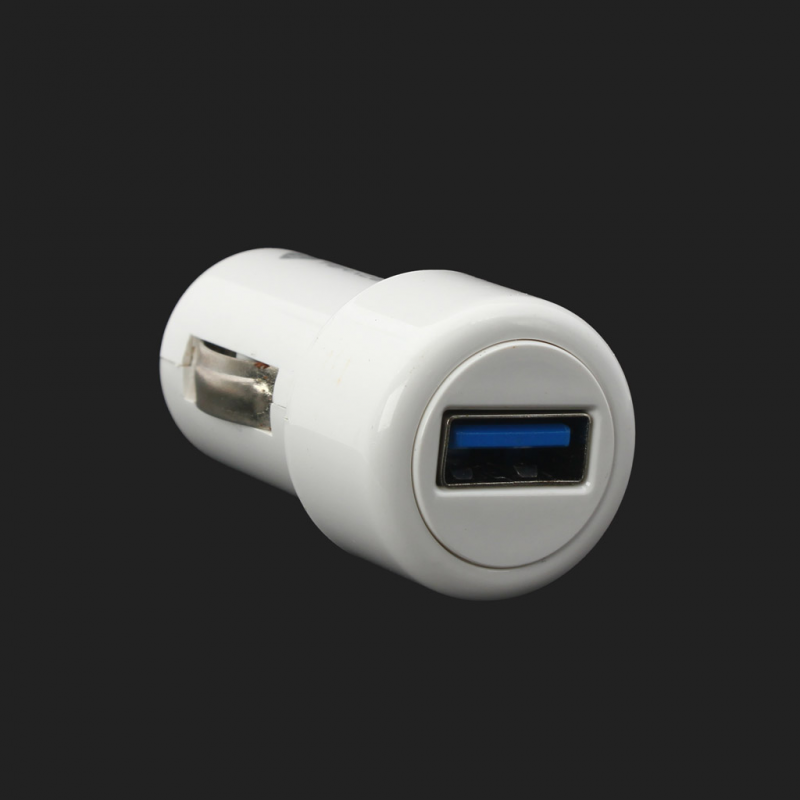 Car charger Teracell with iPhone 4 cable white
