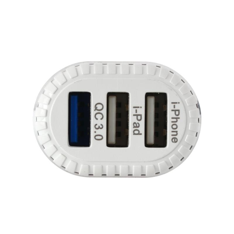 KONFULON C28A 3xUSB QC 3.0 car charger