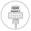 Car charger for Apple MagSafe 2 45W model 2