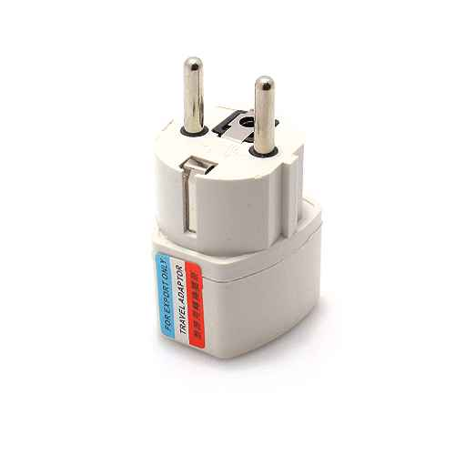 Charger adapter English white model 1