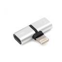 Adapter za slušalice I punjenje W2 iPhone lightning  srebrni