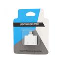 Adapter za slušalice i punjenje W5 iPhone lightning beli