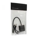 Adapter Micro HDMI na VGA Z + audio JWD-HDMI1