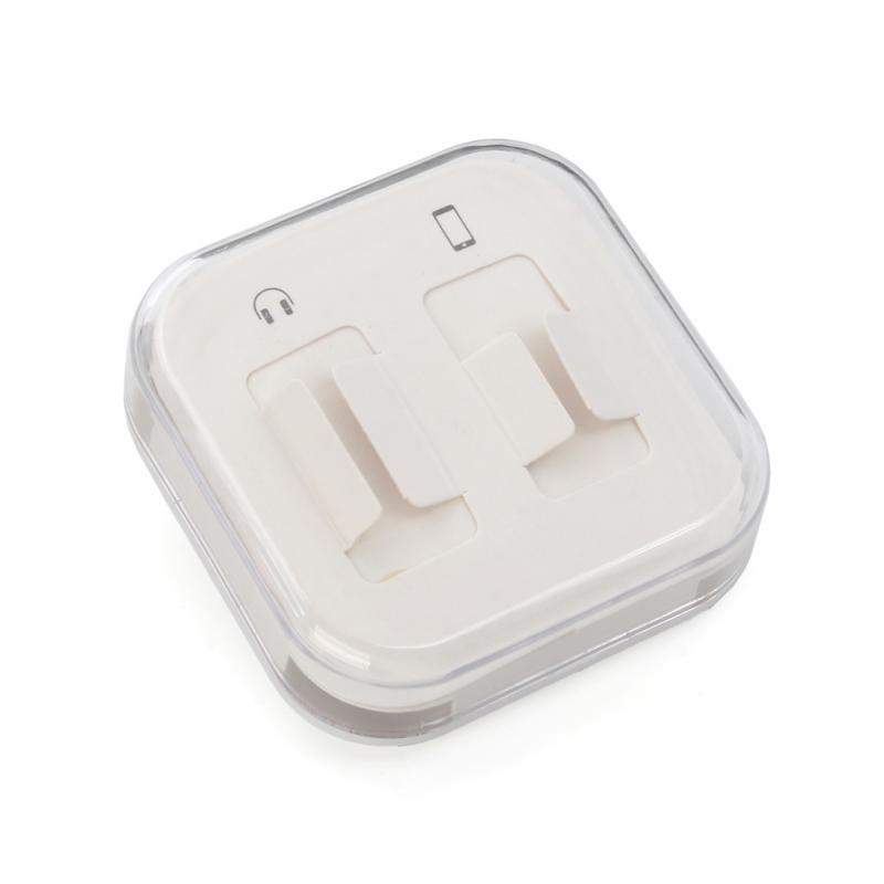 Adapter za slušalice iP-11 iPhone lightning na 3.5mm srebni