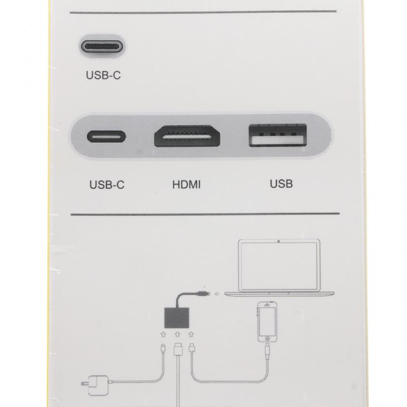 Adapter Type C na Digital AV multiport 3u1