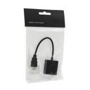 Adapter HDMI M na VGA Z crni JWD-HDMI7