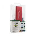 Adapter m.2 SSD na USB crveni