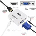 Adapter Box HDMI na VGA JWD-H3
