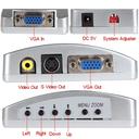 Adapter Box VGA na AUDIO JWD-H4