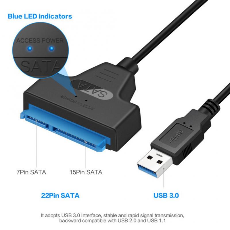 Adapter USB 3.0 na SATA JWD-57