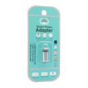 Adapter Type C na iPhone lightning srebrni