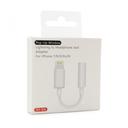Adapter iPhone lightning na 3.5mm HQ za slušalice beli