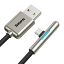 Baseus Iridescent Lamp HW flash charge Mobile Game USB For Type-C 40W 0.5m Black
