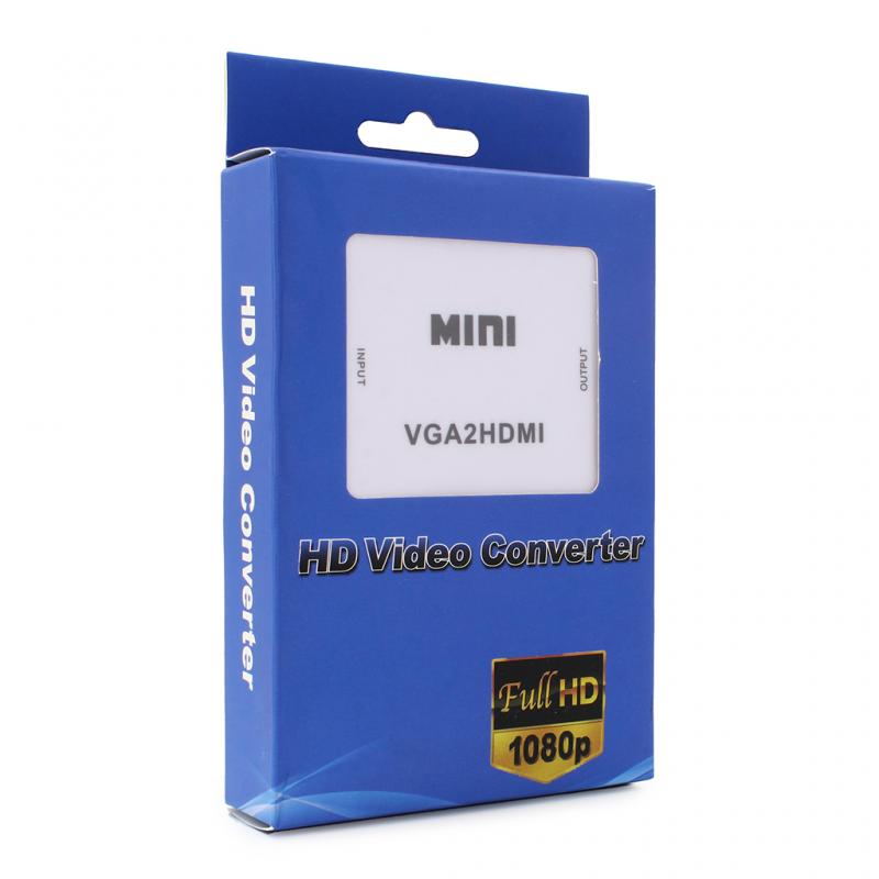 Adapter Box VGA na HDMI JWD-H2