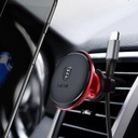 Baseus Magnetic Air Vent car mount holder with cable clip red (SUGX-A09)