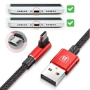 Baseus MVP Double-sided Elbow Type Cable micro USB 1.5A 2M Black (CAMMVP-B01)
