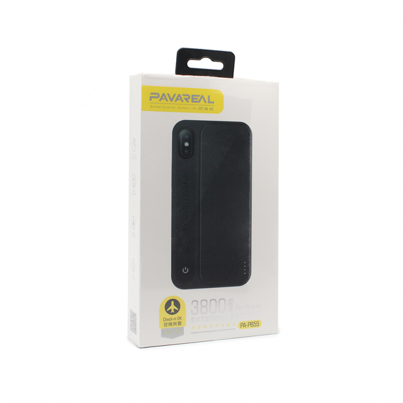 Back up baterija Pavareal PB55 za iPhone X 3800mAh