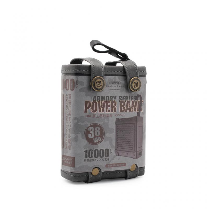 Back up baterija Remax Armory RPP-79 10000mah crna