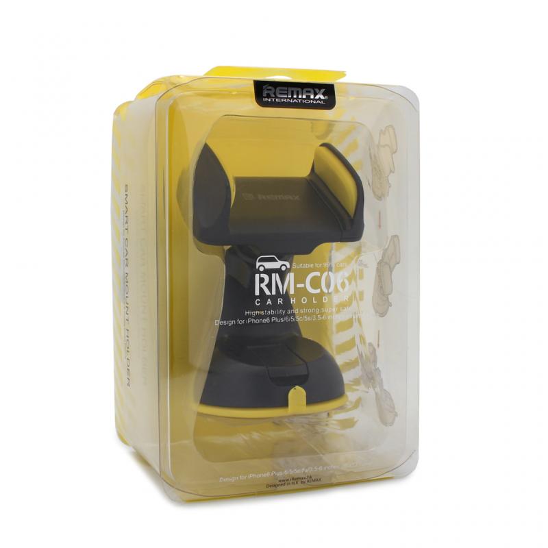 Auto stalak Remax RM-06 crni