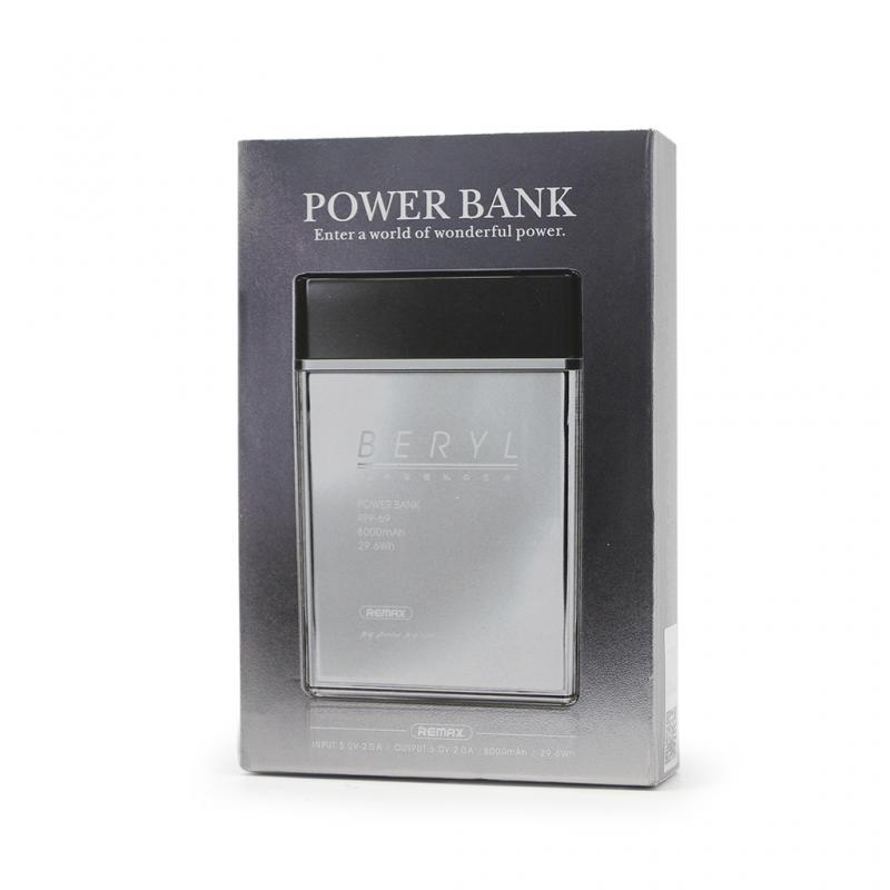 Back up baterija REMAX Beryl RPP-69 8000mAh bela