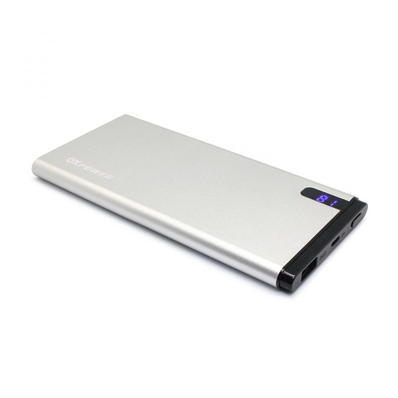 Back up baterija Oxpower MO2 10000mAh srebrna