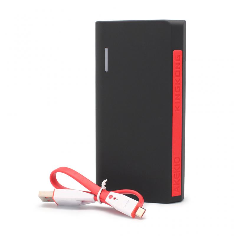 Back up baterija Akekio K1 QC 15600mAh crna