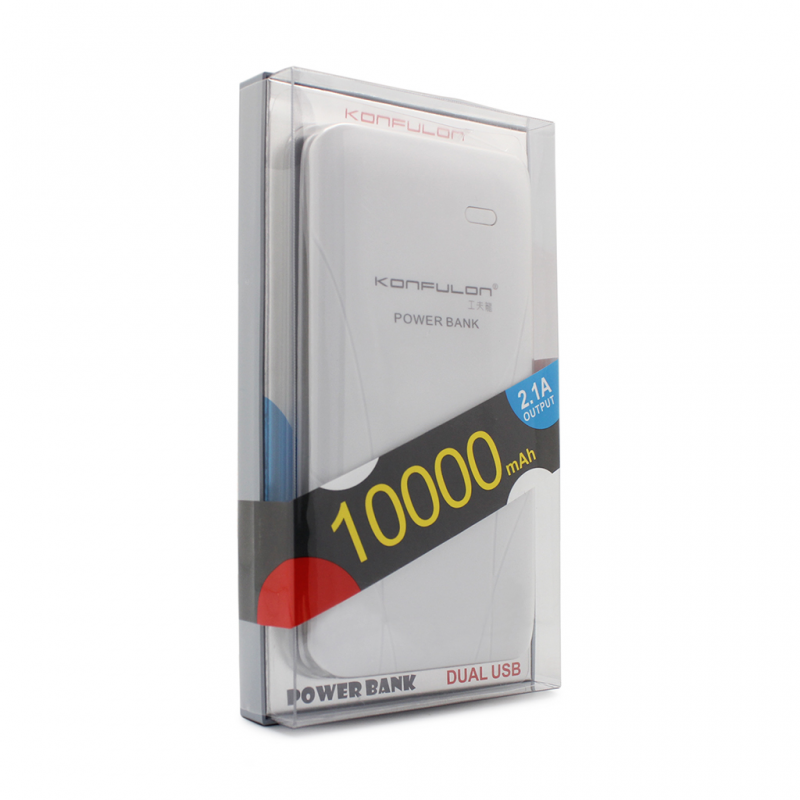 Back up baterija KONFULON KFL-EDGE II 10000Mah siva