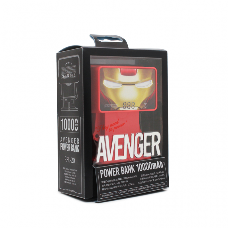Back up baterija REMAX Avenger RPL-20 10000mAh crvena