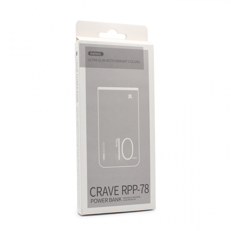 Back up baterija REMAX Crave RPP-78 5000mAh bela