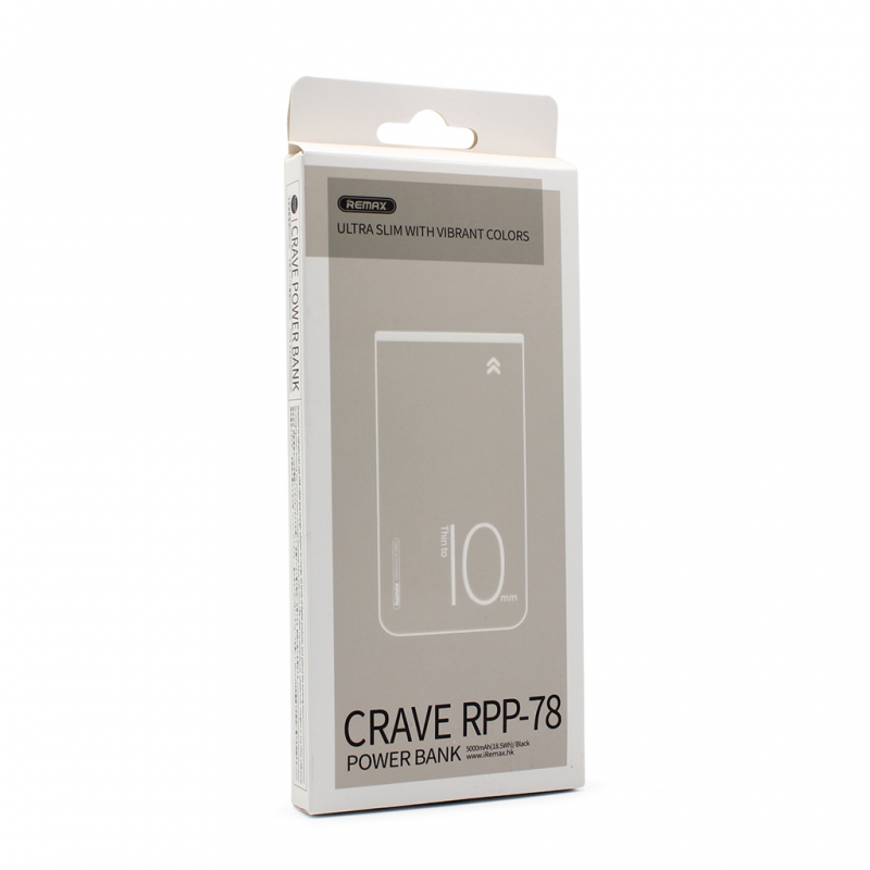Back up baterija REMAX Crave RPP-78 5000mAh crna