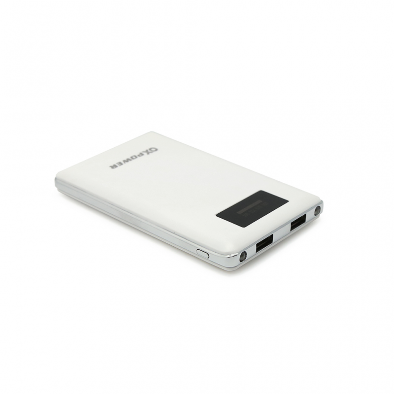 Back up baterija Oxpower P04 dual USB 10000mAh bela