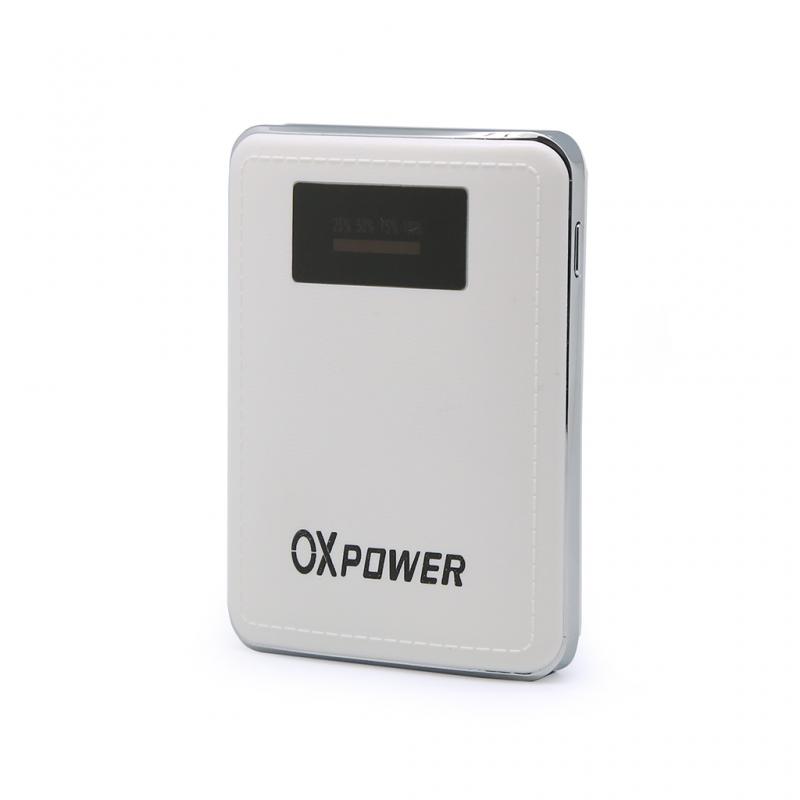 Back up baterija Oxpower P02 dual USB 7800mAh bela