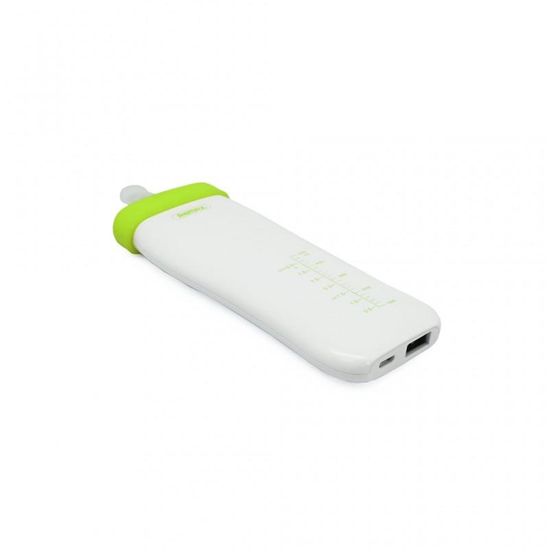 Back up baterija REMAX Milky Bottle RPP-29 5500mAh zelena