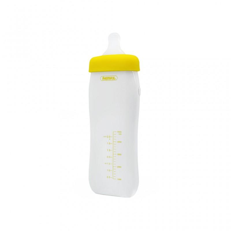 Back up baterija REMAX Milky Bottle RPP-29 5500mAh zuta