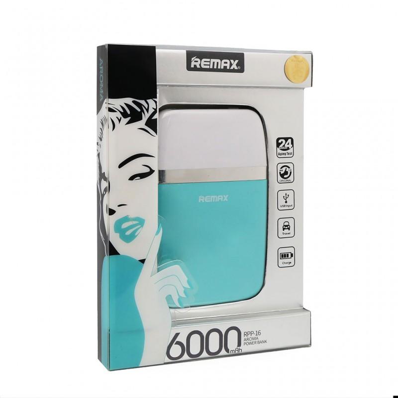 Back up baterija REMAX Aroma RPP-16 6000mAh plava
