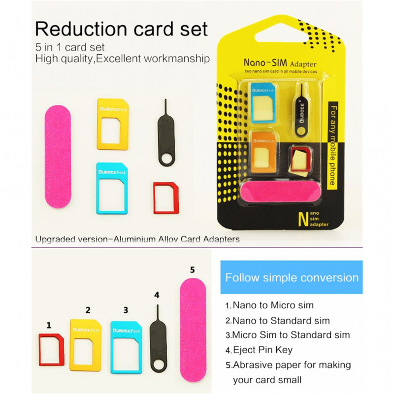 Adapter SIM kartice ATTEN AT 3 u 1