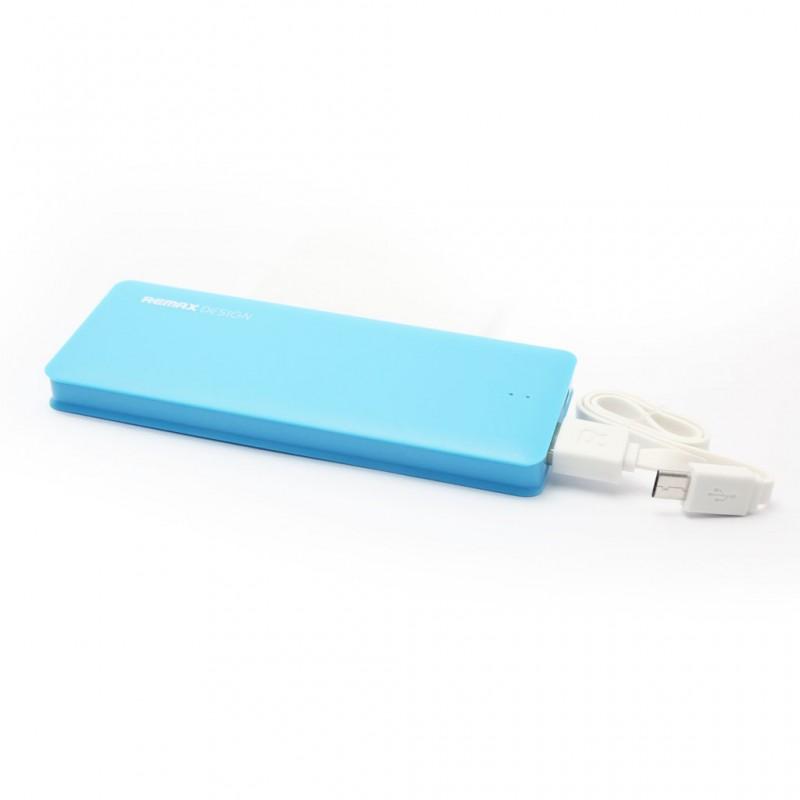 Back up baterija REMAX Candy micro USB 5000mAh svetlo plava