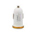 Auto punjac LDNIO DL-C22 dual USB 2.1A sa micro USB kablom beli