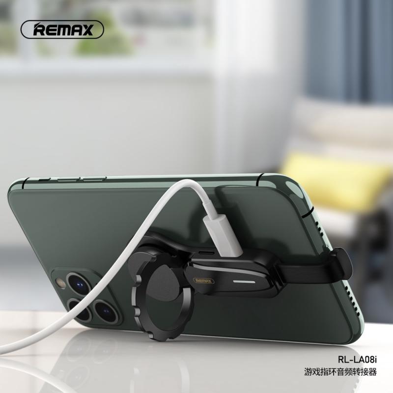 Adapter REMAX za slušalice i punjenje 3.5mm I iPhone lightning RL-LA08