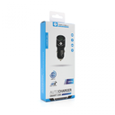 Auto punjač Teracell Evolution TC-05 2xUSB QC3.0 2.4A sa iPhone lightning kablom crni