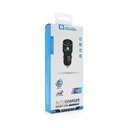 Auto punjač Teracell Evolution TC-05 2xUSB QC3.0 2.4A sa micro USB kablom crni