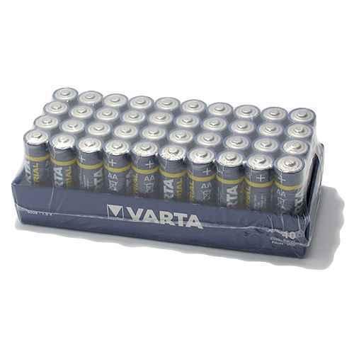 Alkaline battery Industrial 1.5V AA LR6 VARTA
