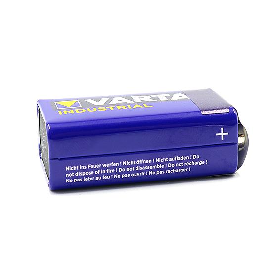 Alkaline battery Industrial 9V 6LR61 VARTA