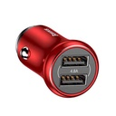 Car charger BASEUS Gentlemen 2 USB / 4.8A red