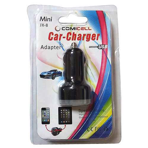 Car charger Comicell JX-8 2.1 / 1A black